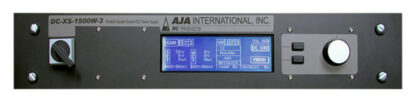 AJA 1500 Watt DC generator w/ integral 4 output switch, cables (CE)