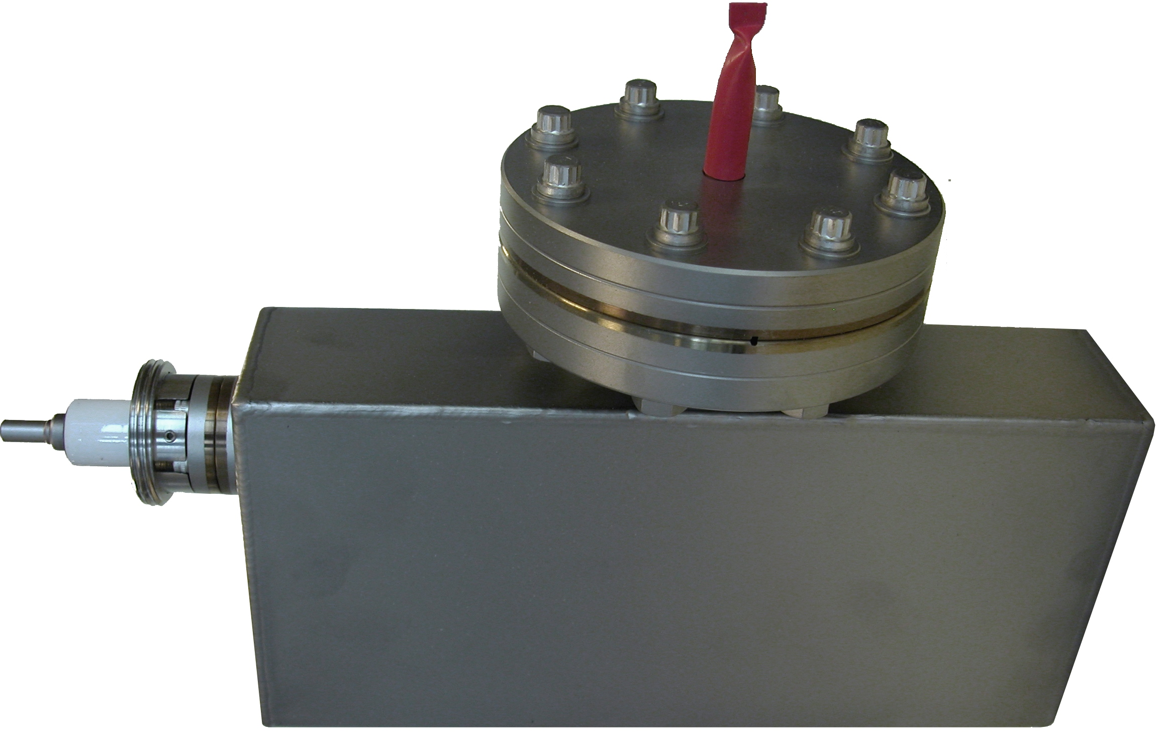Ion pump without magnets, 30 l/sec, DN63CF