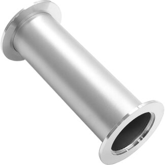 Full nipple L = 80mm, DN16KF, stainless steel 316L