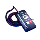 Handheld remote control unit with 7,5 mtr. cable
