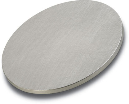 Iridium target purity: 99,95 %