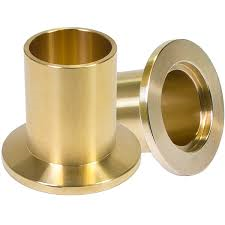 Half nipple long, Brass, DN50KF, height 58mm