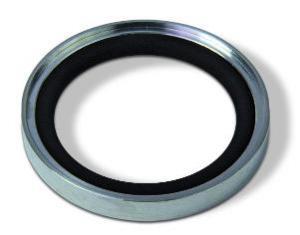 Outer centering ring Aluminum Viton, DN40KF/DN32KF