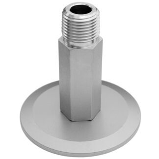 "1/4"" male NPT to KF adapter, DN25KF"