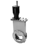 Manual operated Viton sealed gate valve, DN50KF