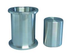 Overpressure relief valve (opens at 40mBar), DN40KF
