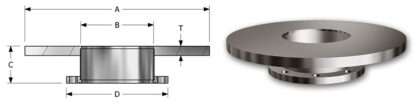 "Base plate 18"" with DN200ISO-F pumpport flange"