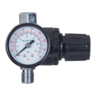 Adjustable regulator 30 psi with gauge