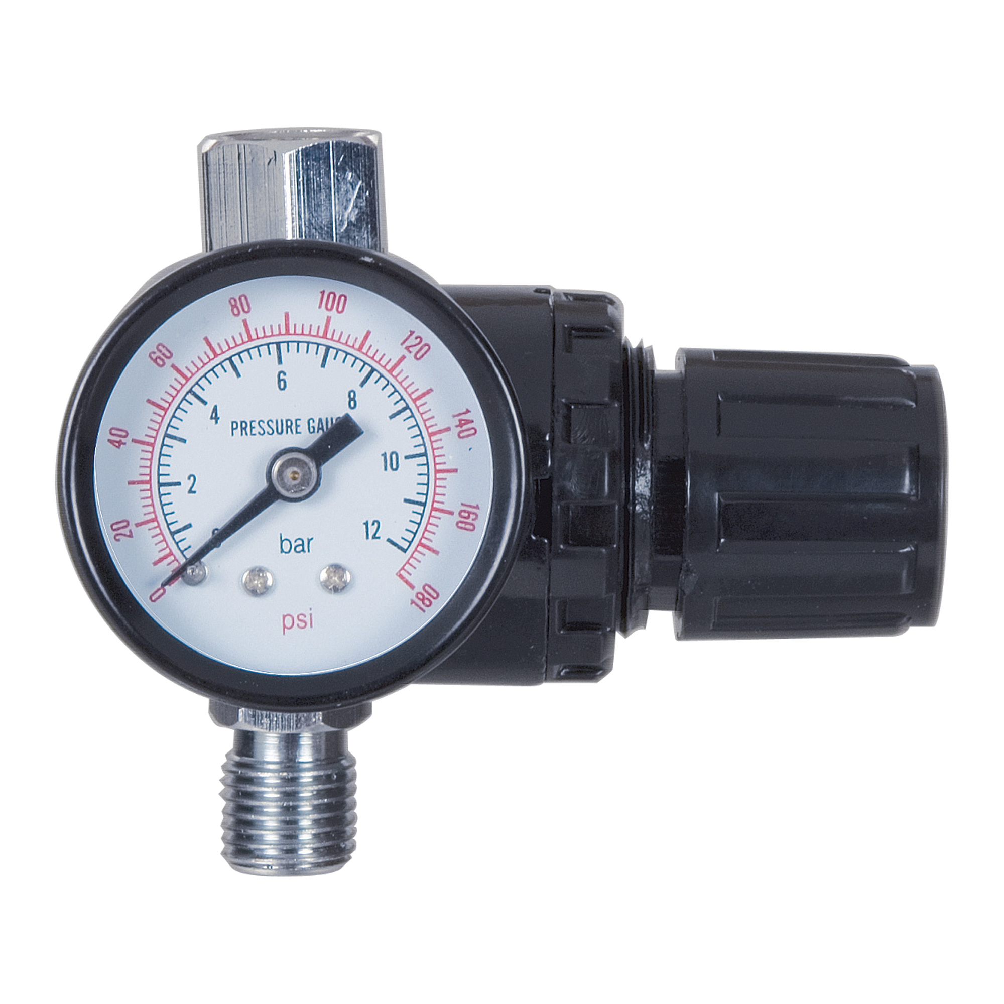 Adjustable regulator 15 psi with gauge