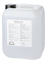 High temp. synthetic oil for rotary vane pumps with vapor pressure 10 e-5 mbar. viscosity @40C. = 110cSt. (10 ltr)