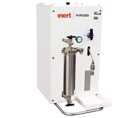 Space friendly Pure solvent purification system for 100 Liter solvent