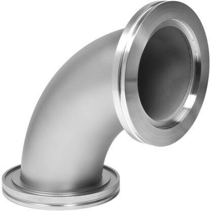 90º radius elbow DN63ISO, stainless steel 316L