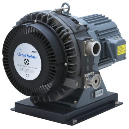 Oil free Scroll pump 60 m3/h, base pressure 0,01 mBar, noise level 67 dB (A)