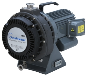 Oil free Scroll pump 15 m3/h, base pressure 0,02 mBar, noise level 58 dB (A)