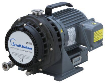 Oil free Scroll pump 5,4 m3/h, base pressure 0,05 mBar, noise level 52 dB (A)