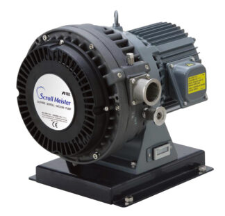 Oil free Scroll pump 30 m3/h, base pressure 0,01 mBar, noise level 60 dB (A)