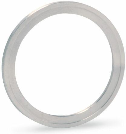 Silver plated Copper gasket (ID 50,8mm OD 61,6mm), DN50CF