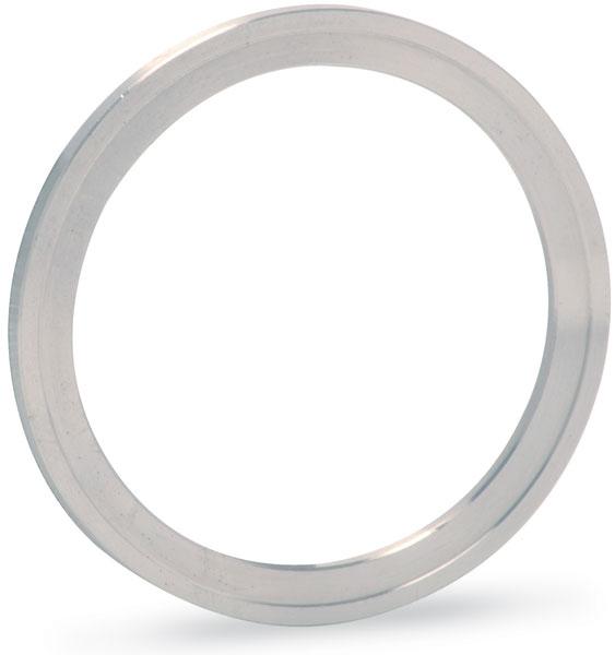 Silver plated Copper gasket (ID 101,8mm OD 120,5mm), DN100CF