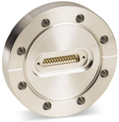 D-type subminiature feedthrough one-50-pin on DN100CF flange