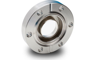 "Zero length Sapphire 2,74"" view diameter, DN150CF, 145 psi pressure max"