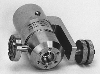 Variable leak valve, 1.5 cc, DN19CF/19CF