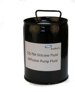 Diffusion pump silicone oil, 704, 3,8 ltr