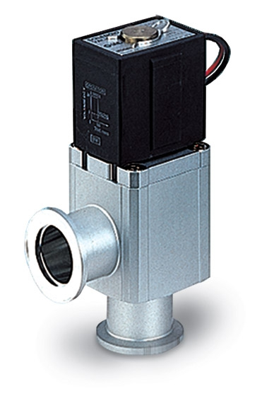 Electromagnetic operated Aluminum angle valve without power supply, DN16KF