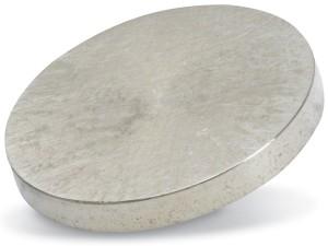 Lanthanum Yttrium target purity: 99,5 %