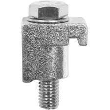 ISO single clamp Zinc plated M10, DN160ISO/DN250ISO