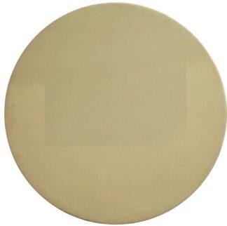 Zinc Oxide target purity: 99.99%.