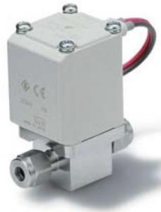 Electromagnetic operated solenoid valve Swagelok type 24VDC orifice ø 6mm