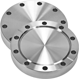 Blank flange non-rotatable, DN19CF, OD=34mm, 6 bolt holes, stainless steel 316L