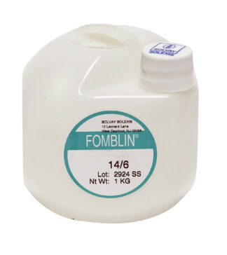 Fomblin oil for mechanical vacuum pump 2.10 E-7 Torr