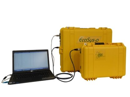 Portable EcoSys-P online atmospheric gas monitoring system with mass range 0-300 amu