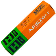 Apiezon H grease, melting temp. 240 C. vapor pressure 2.10-10 mBar, 25 gram