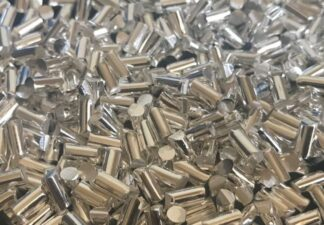 Silver evaporation Pellets, purity: 99,99 %