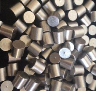 Titanium evaporation material, purity: 99,99 %