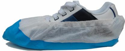 Shoe cover non-woven-CPE. (2.100 pieces)