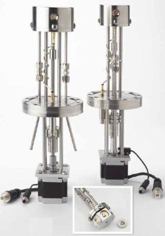 Multi Crystal sensor holder for 8 Crystals including motor and flange