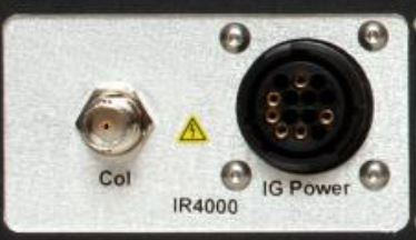 FlexRax 4000 Slots 5 and/or Slot 6 IGE option (operates one EB Degas B-A Ionization gauge)