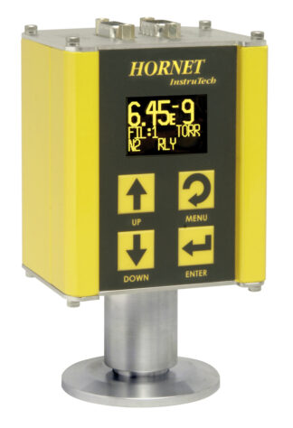 IGM401 Hornet hot cathode vacuum gauge with Tungsten filaments. DN40CF flange