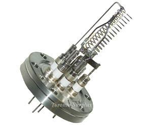 Nude Ion gauge, single hairpin yttria coated iridium filament, DN40CF