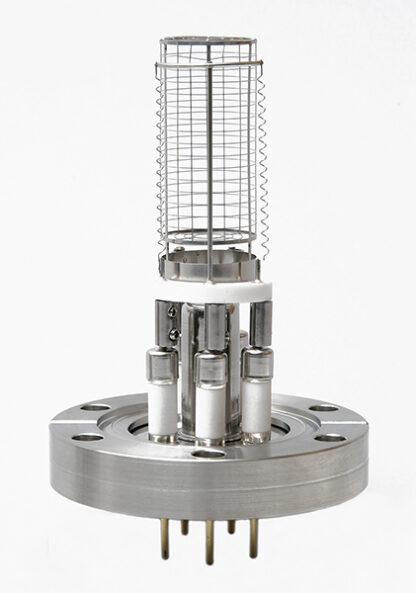 Nude Ion gauge, dual tungsten filaments, DN40CF