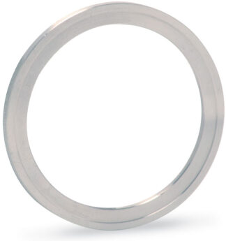 Silver plated annealed Copper gasket (ID 101,8mm; OD 120,5mm), DN100CF