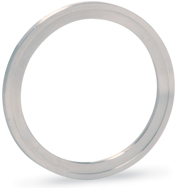 Silver plated annealed Copper gasket (ID 202,5mm; OD 221,5mm), DN200CF