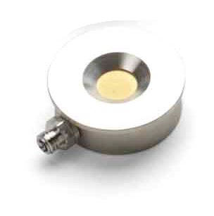 Single Quartz Crystal sensor flat round holder non-cooled