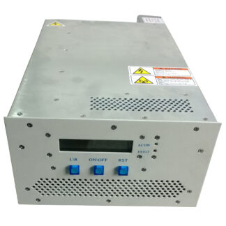 200 Watt RF power supply 13,56 MHz including manual matching network