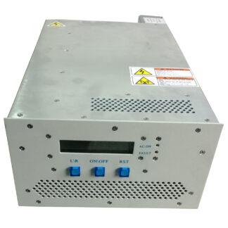 200 Watt RF power supply 13,56 MHz including manual matching network