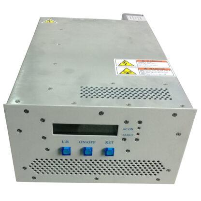 100 Watt RF power supply 13,56 MHz including manual matching network
