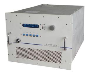 3500 Watt RF power supply 13,56 MHz including manual matching network